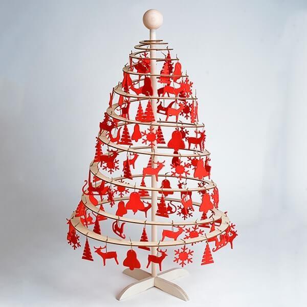 Božično drevo spira