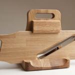 Lesena salamoreznica iz hrastovega lesa